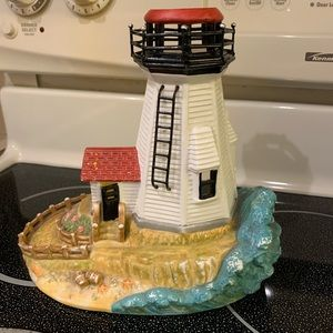 PartyLite Retired Collectible Lighthouse